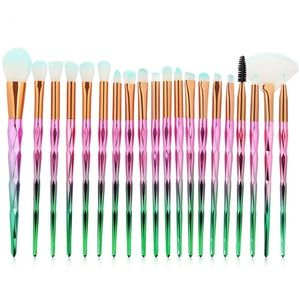 NEW Korean! 20pcs Diamond Makeup Brushes Set